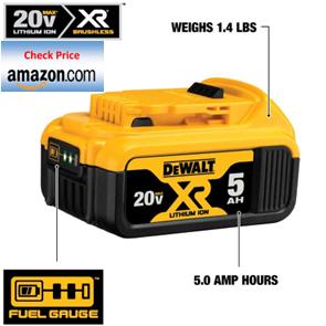 DeWalt 20V MAX battery price